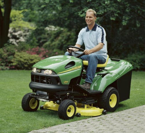 Lawn Tractor Safety : My video lawnmower safety saras tips